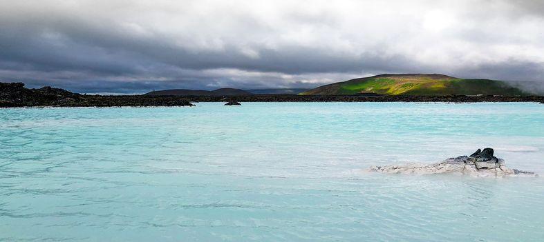 Islande le lagon bleu